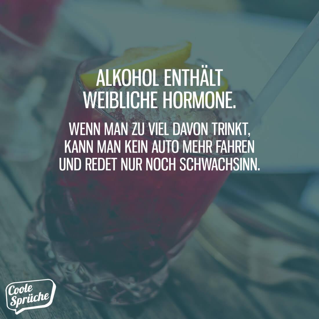 Alkohol am wochenende