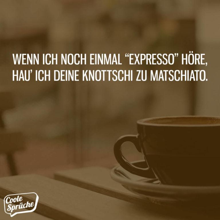 Expresso & Matschiato