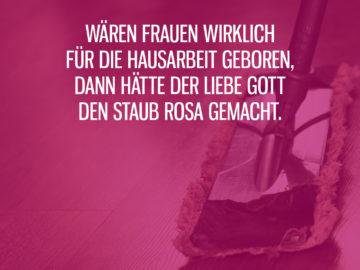 Rosa Staub für Frauen