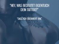 Was bedeutet Dein Tattoo?