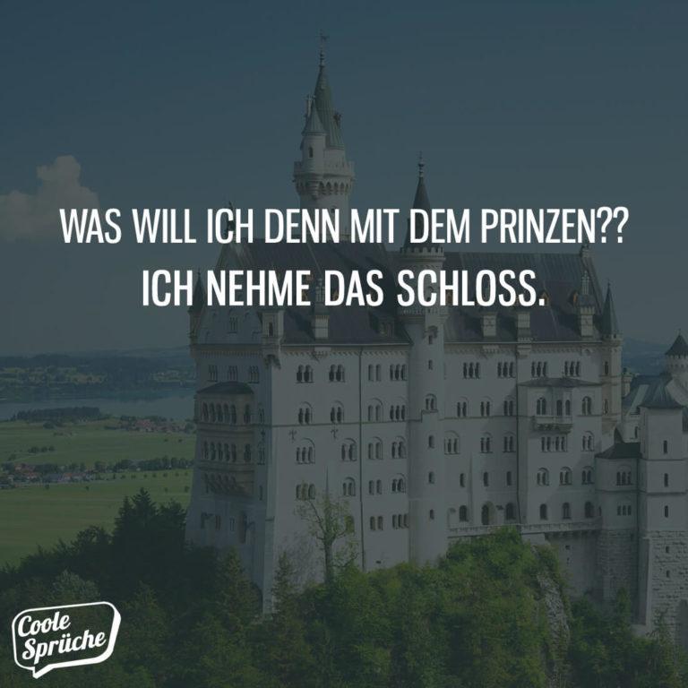 Was will ich mit dem Prinzen?
