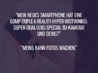Smartphone mit toller Kamera