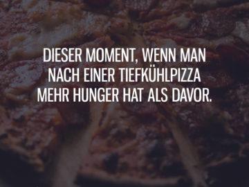 Mehr Hunger als davor...