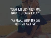 Darf ich Dich mal nackt fotografieren?