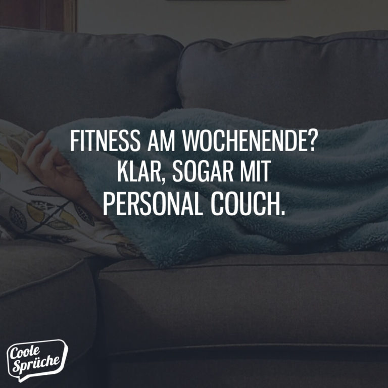 Fitness mit Personal Couch