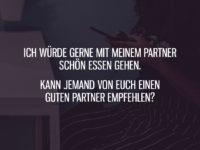 Kann jemand einen guten Partner empfehlen?